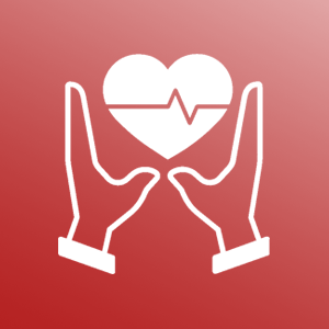 healthcare support icon