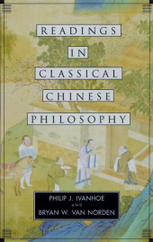 Readings in chinese philosophy book cover
